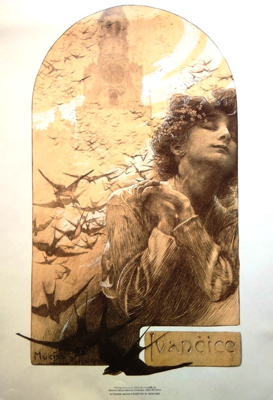 Alphonse Mucha - Memory of Ivančice (exhibition in Japan)
