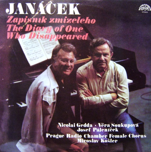 Janáček - Zápisník zmizelého The Diary of One Who Disappeared