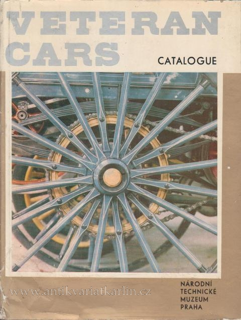 Veteran Cars - catalogue